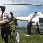 Aid operations - unloading